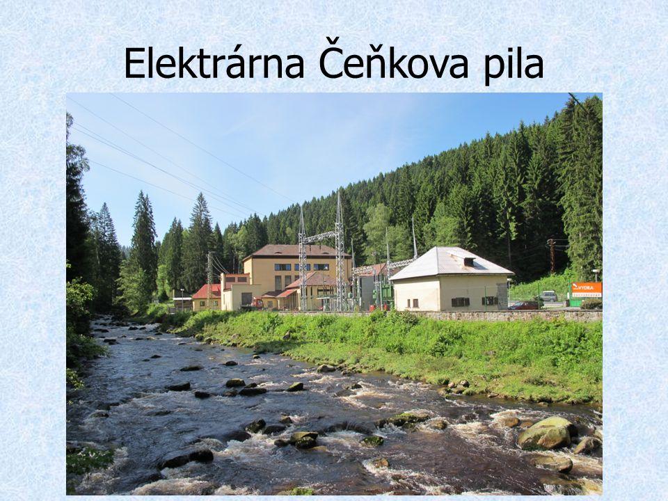 Elektrárna Čeňkova pila