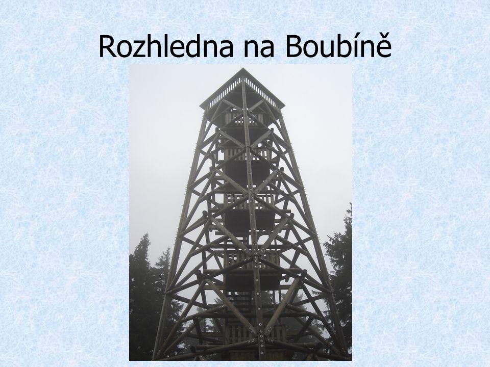 Rozhledna na Boubíně