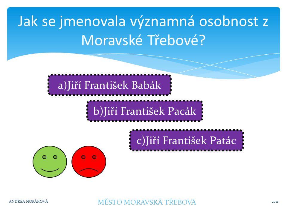 Jak se jmenuje rozhledna v Moravské Třebové.