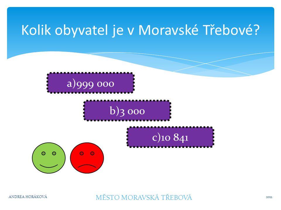 Jak se jmenovala významná osobnost z Moravské Třebové.