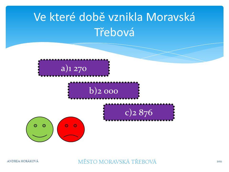 Kolik obyvatel je v Moravské Třebové.