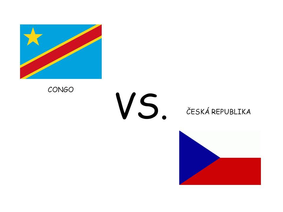 CONGO ČESKÁ REPUBLIKA VS.