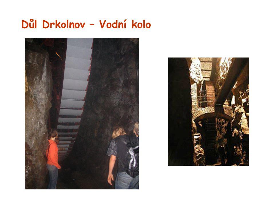 Důl Drkolnov – Vodní kolo