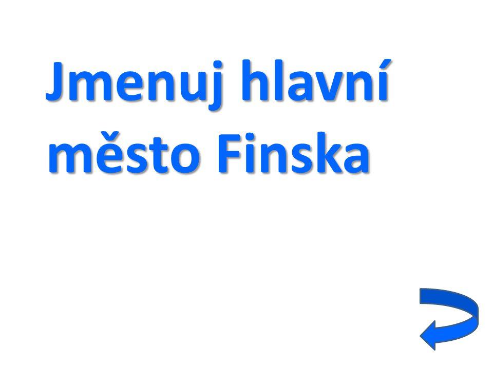 Jmenuj hlavní město Finska