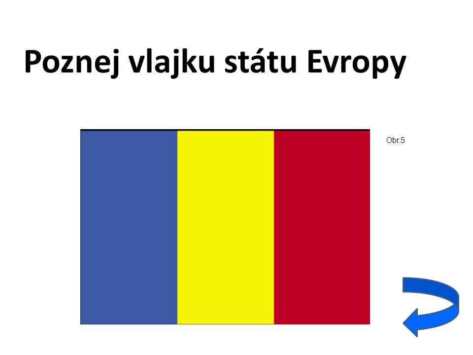 Poznej vlajku státu Evropy Obr.5