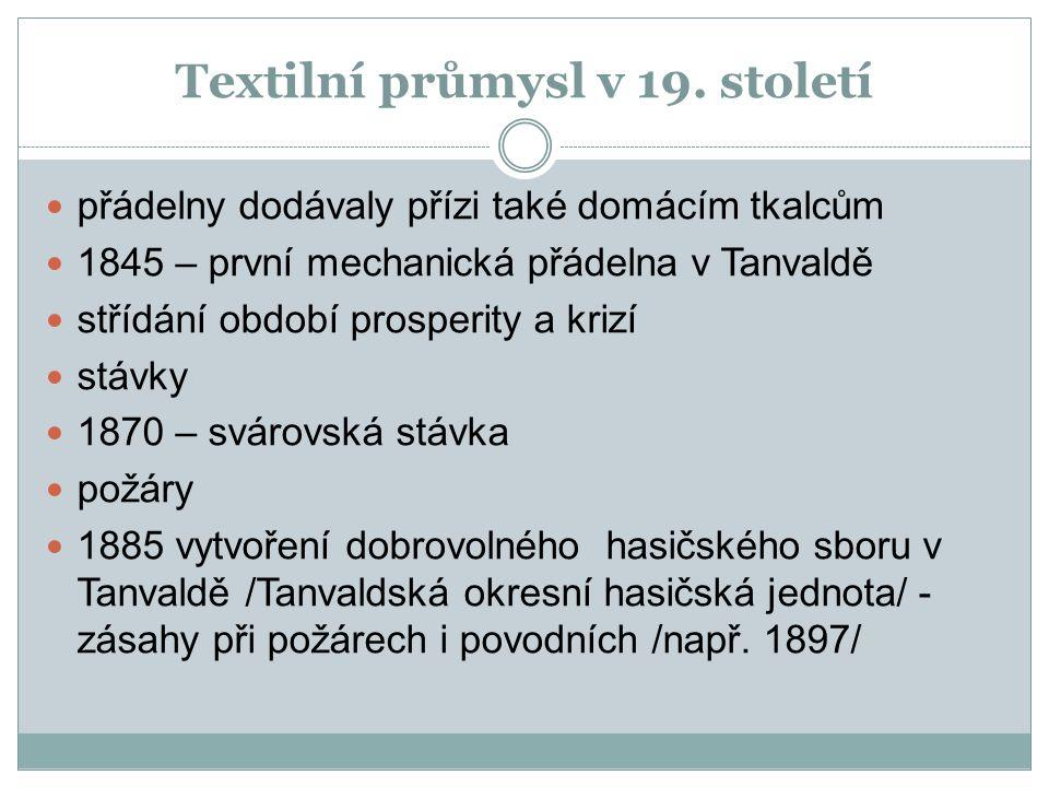 Textilní průmysl v 19.