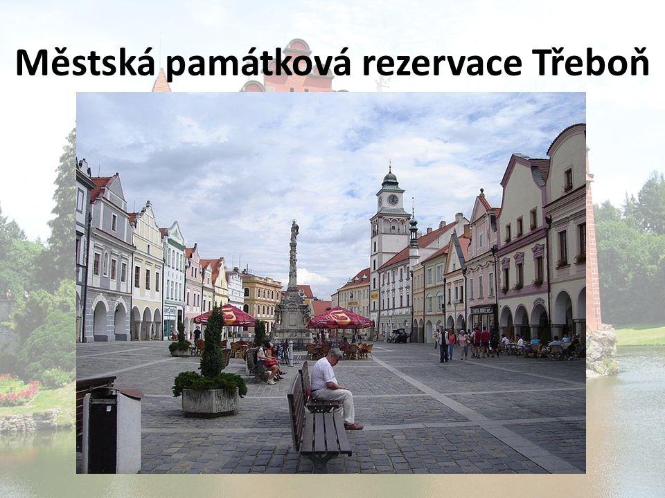 Městská památková rezervace Třeboň