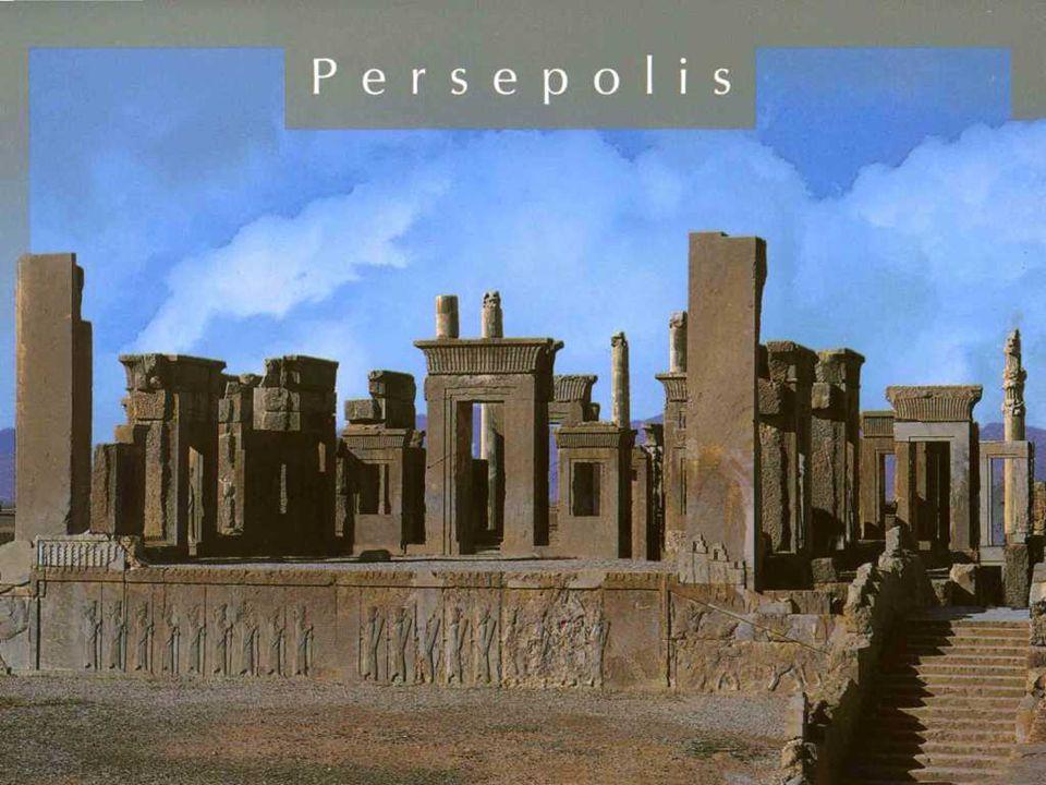 PERSÉPOLIS Persépolis fue la capital ceremonial del imperio aqueménida (ca.
