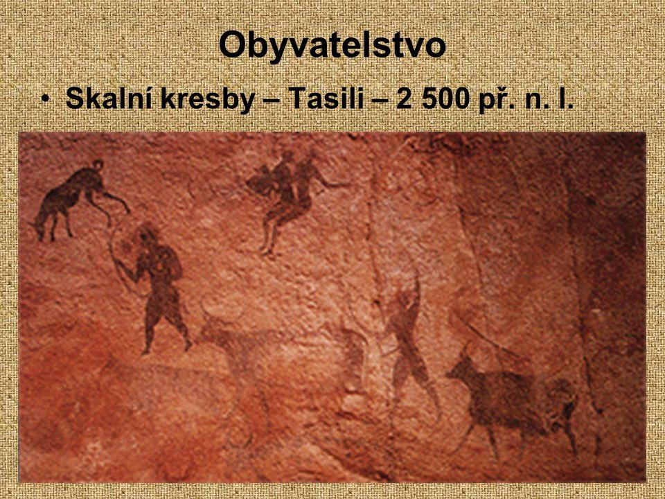 7.12.2004Zdeněk Bergman, G Teplice Obyvatelstvo Skalní kresby – Tasili – 2 500 př. n. l.