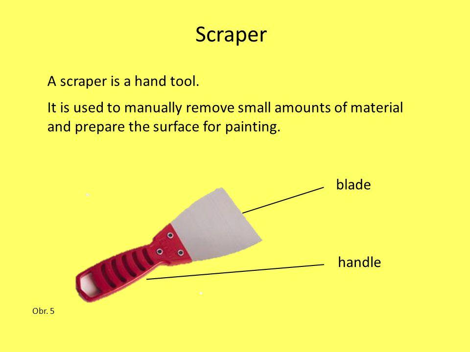 Paint application The painter uses 1.a paint sprayer or spray gun 2.