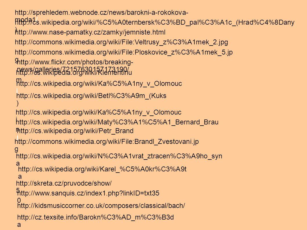 http://cs.wikipedia.org/wiki/%C5%A0ternbersk%C3%BD_pal%C3%A1c_(Hrad%C4%8Dany ) http://www.nase-pamatky.cz/zamky/jemniste.html http://commons.wikimedia