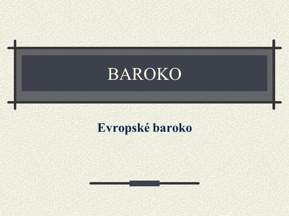 Téma: Evropské baroko - 8.ročník Použitý software: držitel licence - ZŠ J.