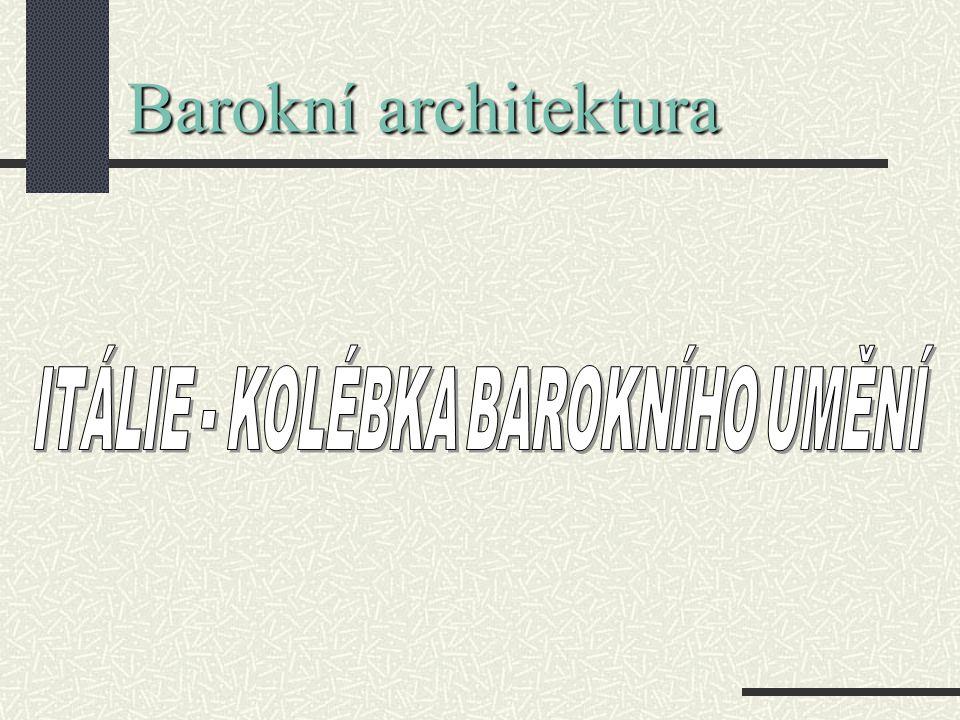 Baroko v Itálii Gian Lorenzo Bernini Gian Lorenzo Bernini – architekt, sochař, dovršitel chrámu sv.