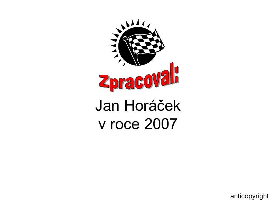 Jan Horáček v roce 2007 anticopyright