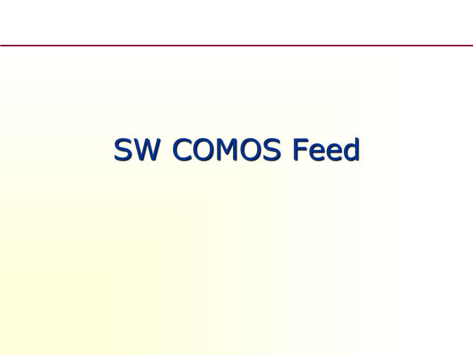 SW COMOS Feed