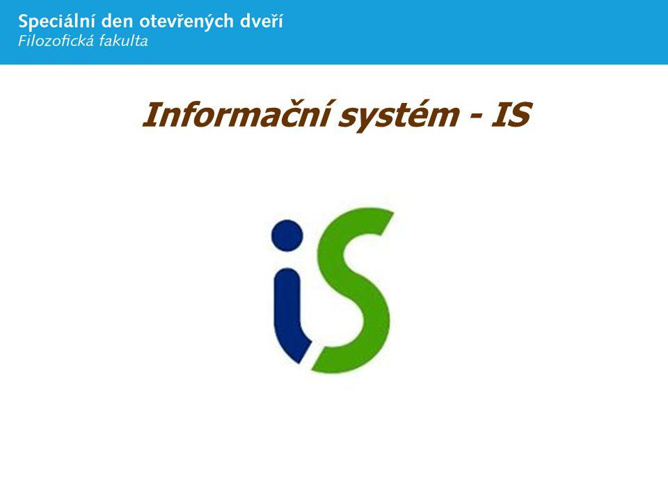 Informační systém - IS