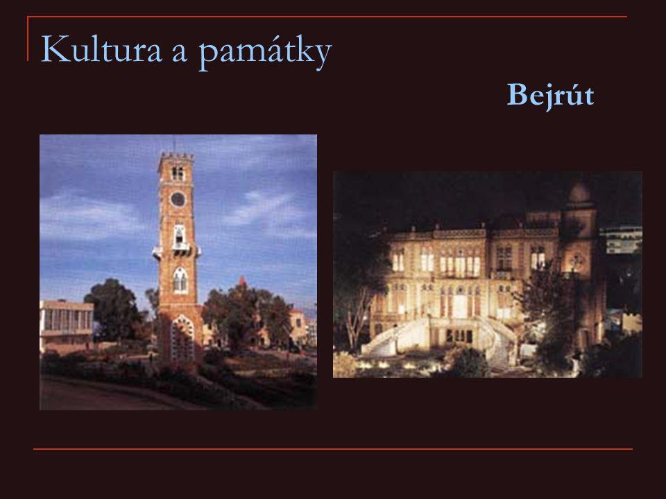 Kultura a památky Bejrút