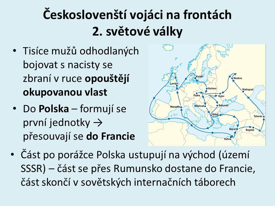 Českoslovenští vojáci na frontách 2.