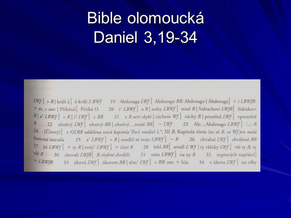 Variantní rukopisy 1 Proroci rožmberští 90.léta 14.