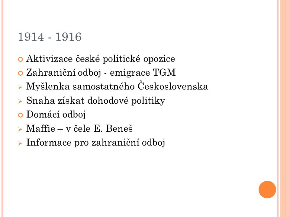 T. G. M ASARYK