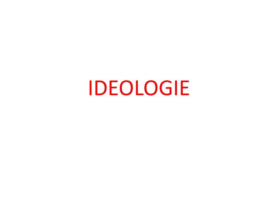 Rozhodněte, pro které ideologie jsou typická následující tvrzení: A/ Změna společnosti je možná jen ozbrojenou revolucí.