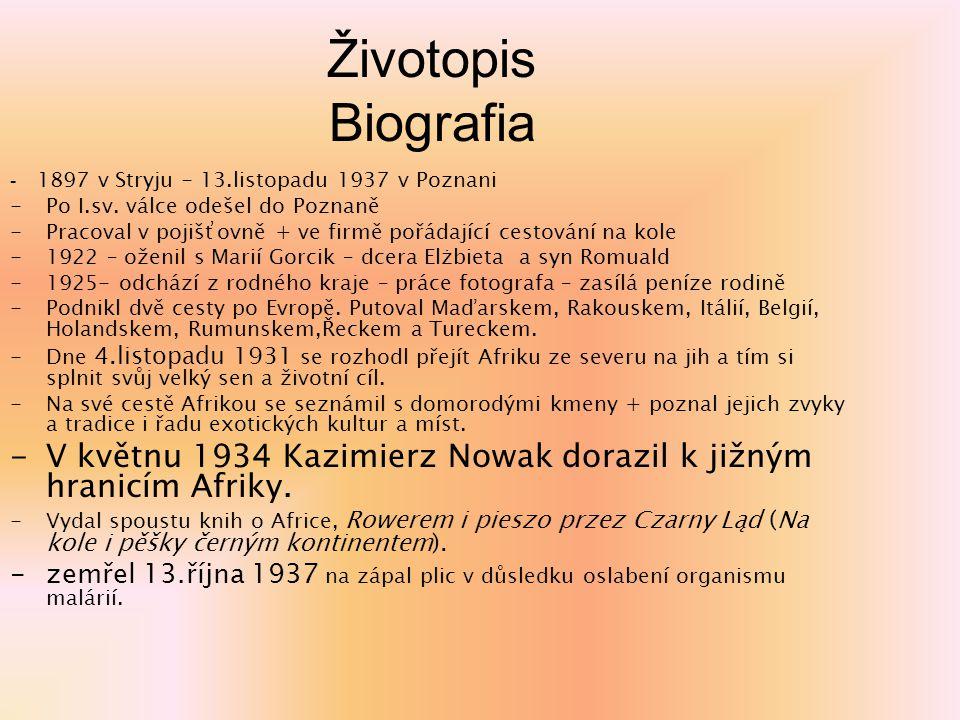 Životopis Biografia - 1897 v Stryju - 13.listopadu 1937 v Poznani -Po I.sv. válce odešel do Poznaně -Pracoval v pojišťovně + ve firmě pořádající cesto