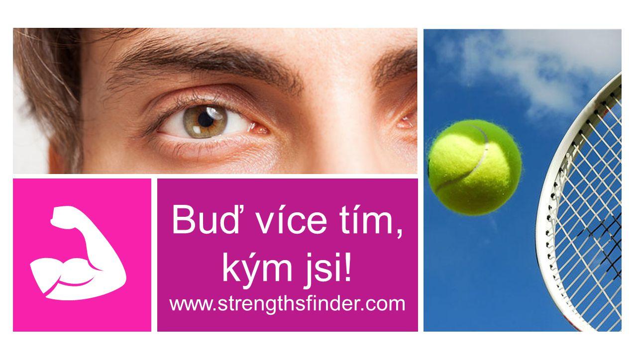 Buď více tím, kým jsi! www.strengthsfinder.com