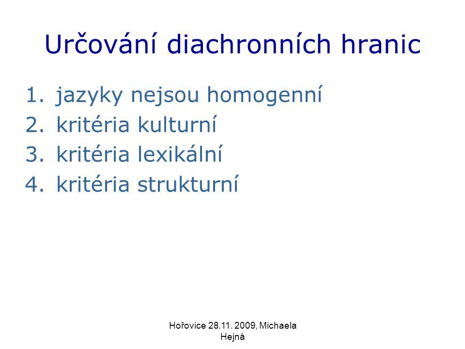 Hořovice 28.11.2009, Michaela Hejná 1.