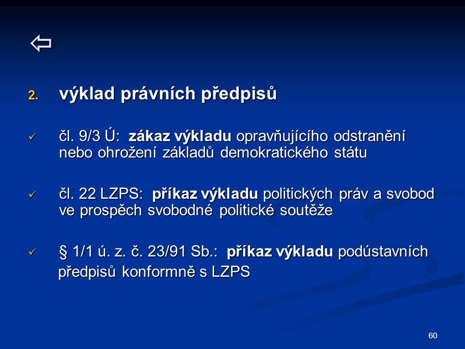 60  2.výklad právních předpisů čl.