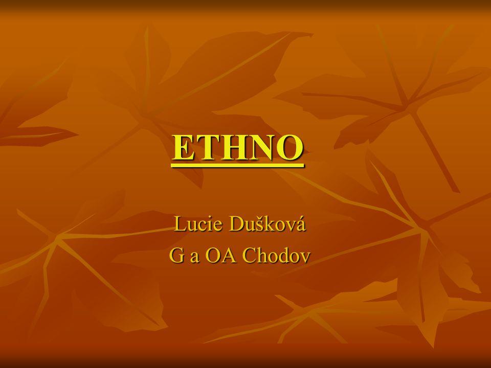 ETHNO Lucie Dušková G a OA Chodov
