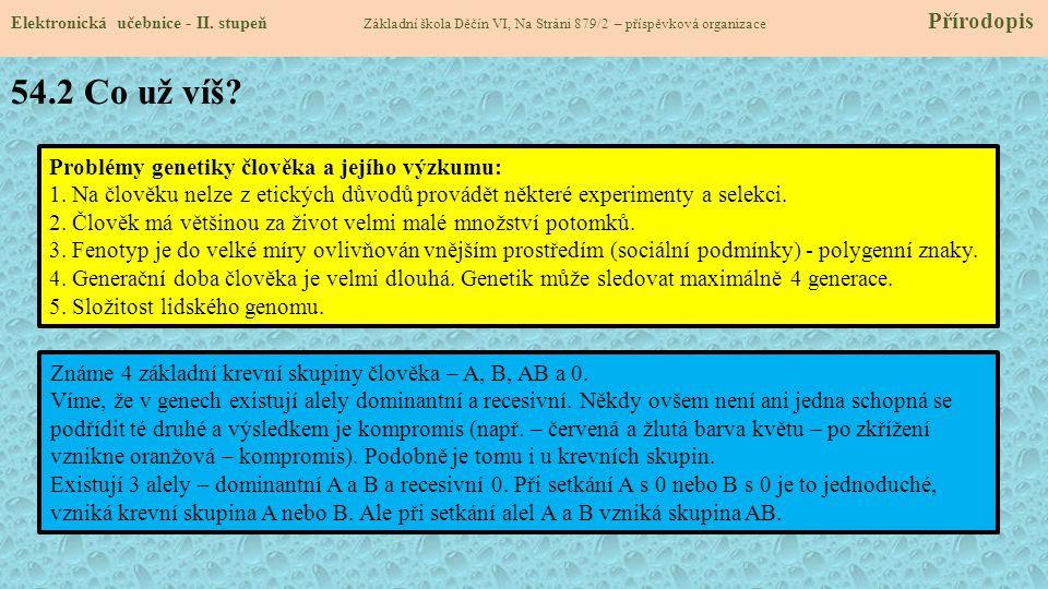54.3 Jaké nové věci se dozvíme.Elektronická učebnice - II.