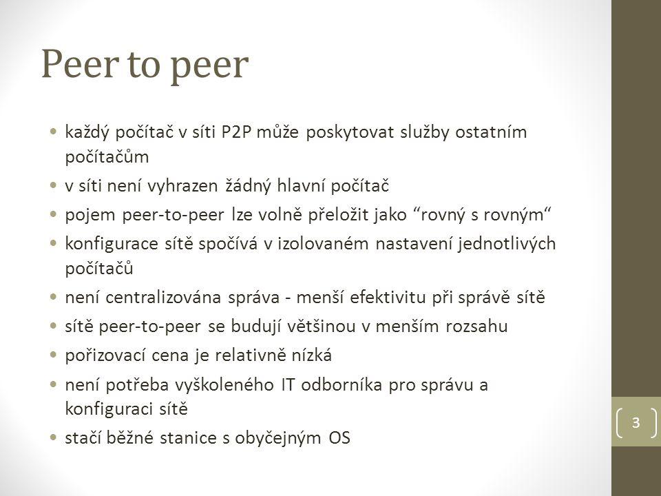 Peer to peer 4