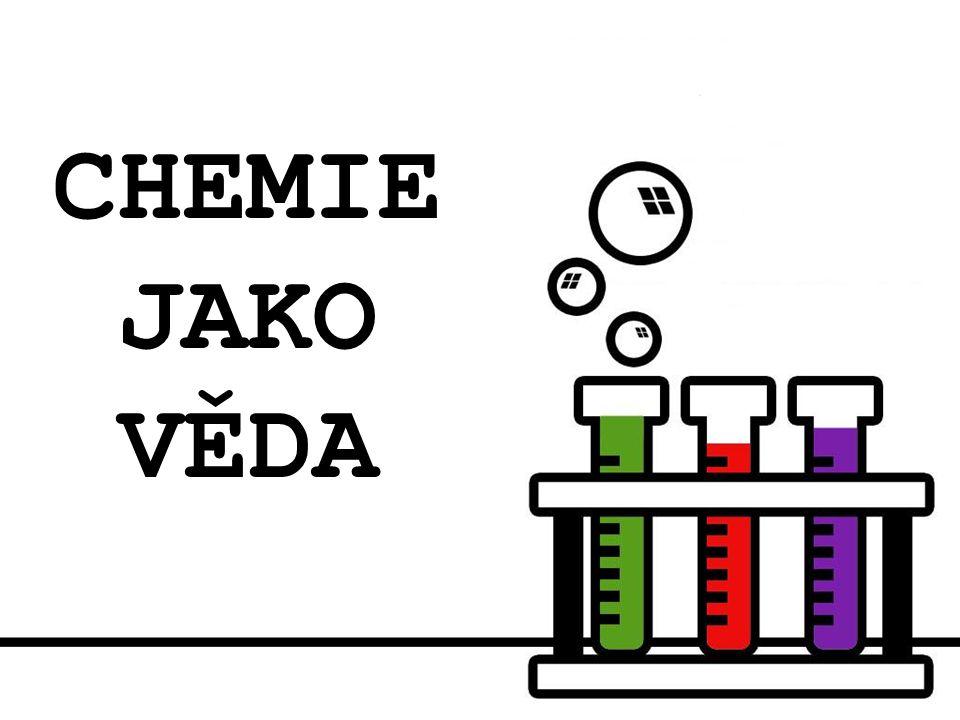 Struktura díla 1) CO JE TO CHEMIE.