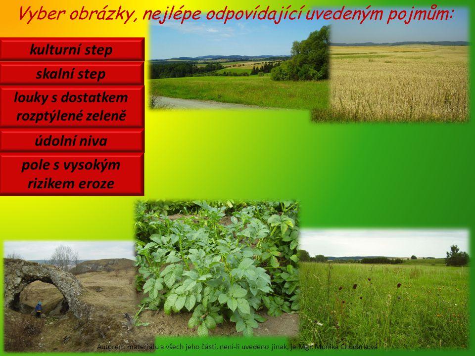 otavy herbicidy eroze niva monokultura Co to znamená.
