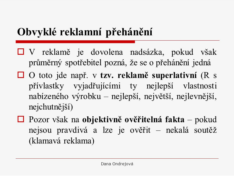 Dana Ondrejová Tzv.
