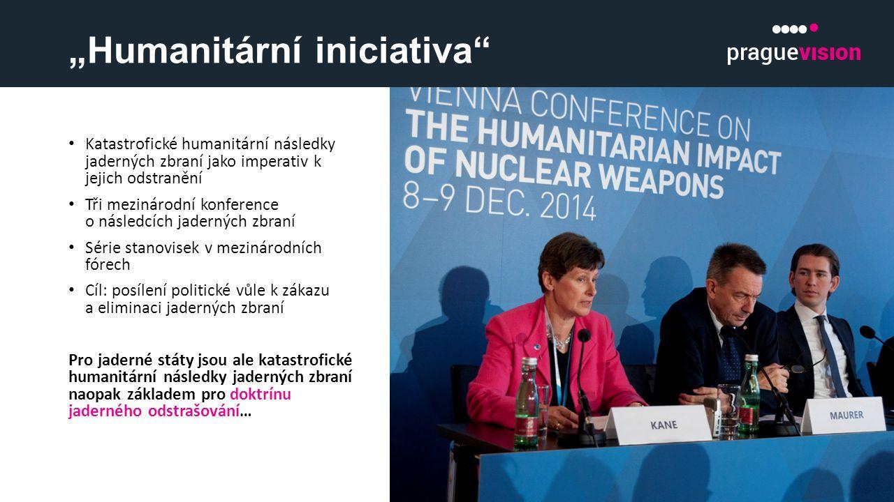 """""""Humanitární iniciativa"""" Katastrofické humanitární následky jaderných zbraní jako imperativ k jejich odstranění Tři mezinárodní konference o následcíc"""