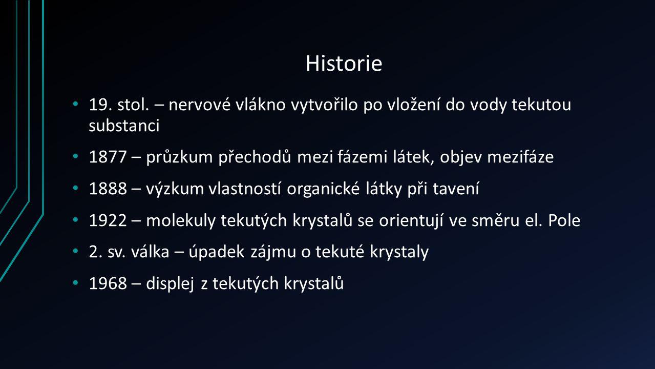 Historie 19. stol.