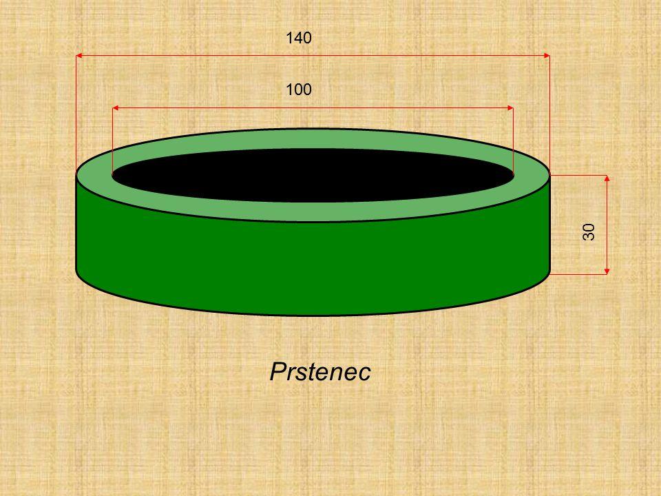 140 100 30 Prstenec