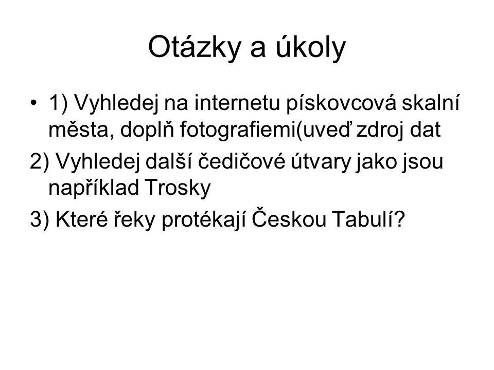 Zdroje dat: Středisko ekologické výchovy Český Ráj.