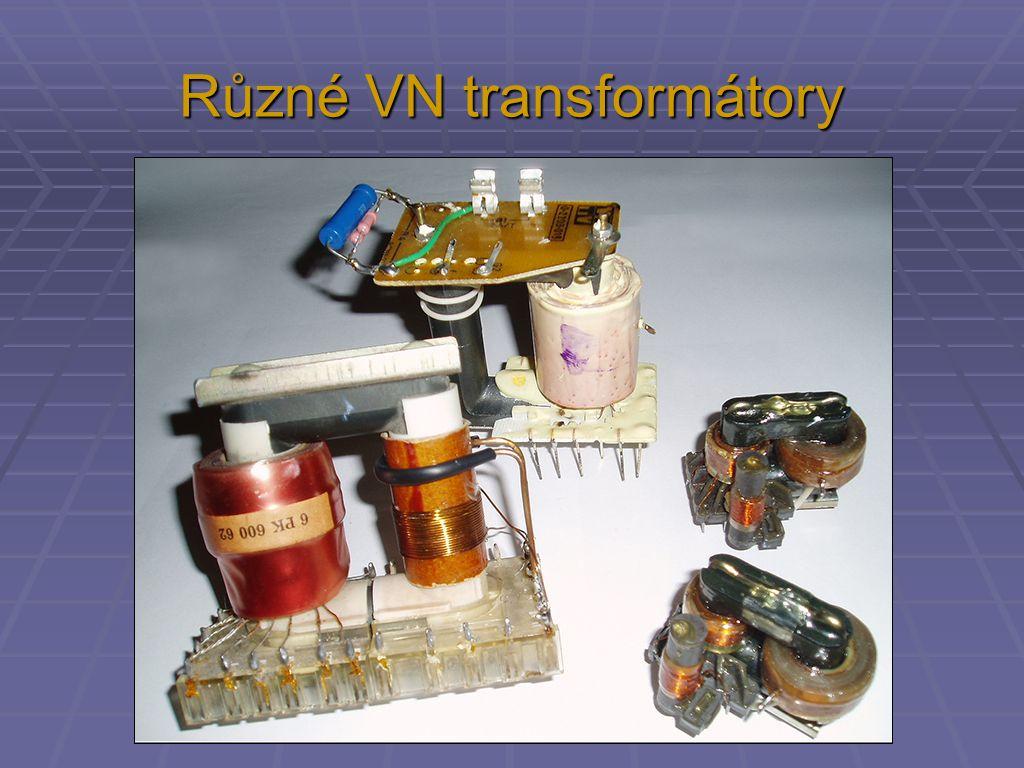 Různé VN transformátory