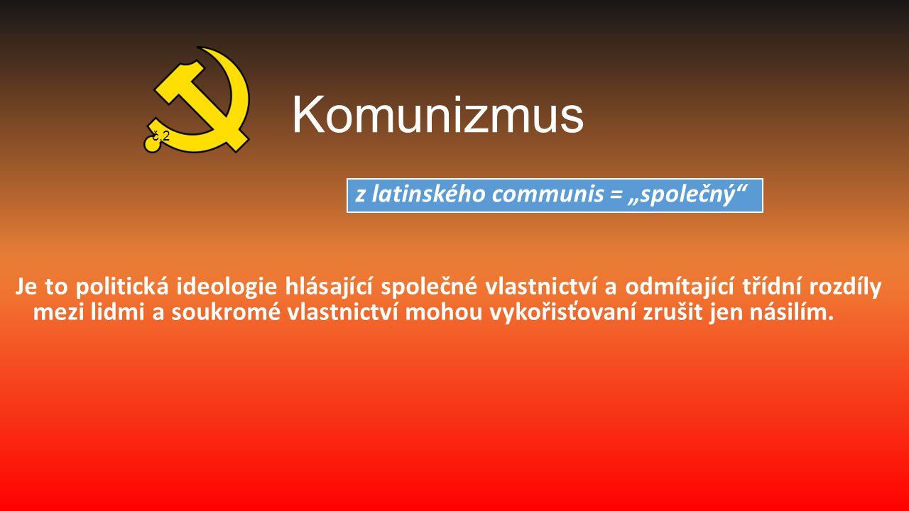 Komunistický režim v Československu se vyznačoval:  absencí svobodných voleb  kolísající úrovní teroru -nejtvrdší bylo období po převratu a první polovina 50.