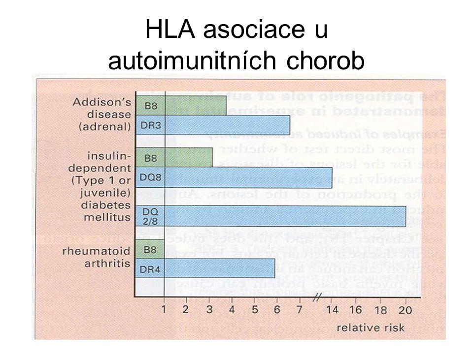 HLA asociace u autoimunitních chorob