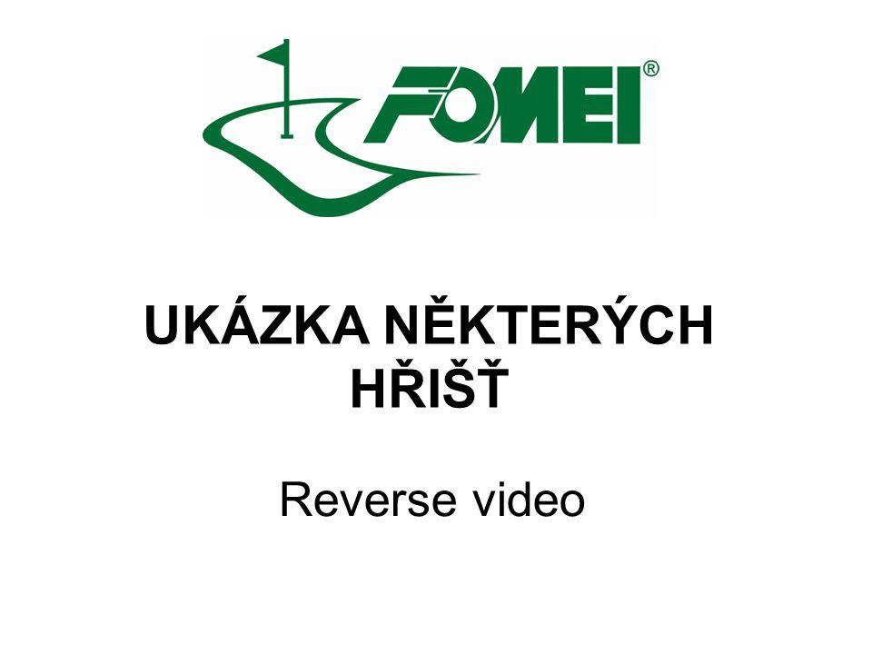 UKÁZKA NĚKTERÝCH HŘIŠŤ Reverse video
