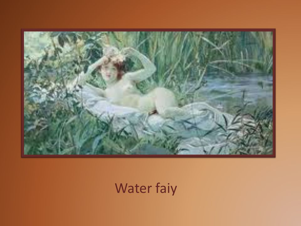 Water faiy