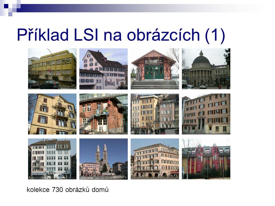 kolekce 730 obrázků domů Příklad LSI na obrázcích (1)
