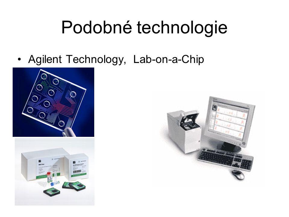Podobné technologie Agilent Technology, Lab-on-a-Chip