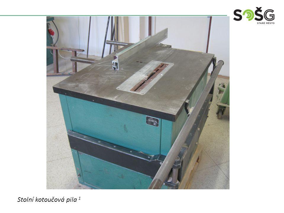 POUŽITÍ : Stroj je určen pro podélné (rozřezávání) a příčné (zkracování) řezání přířezů z masivního dřeva.