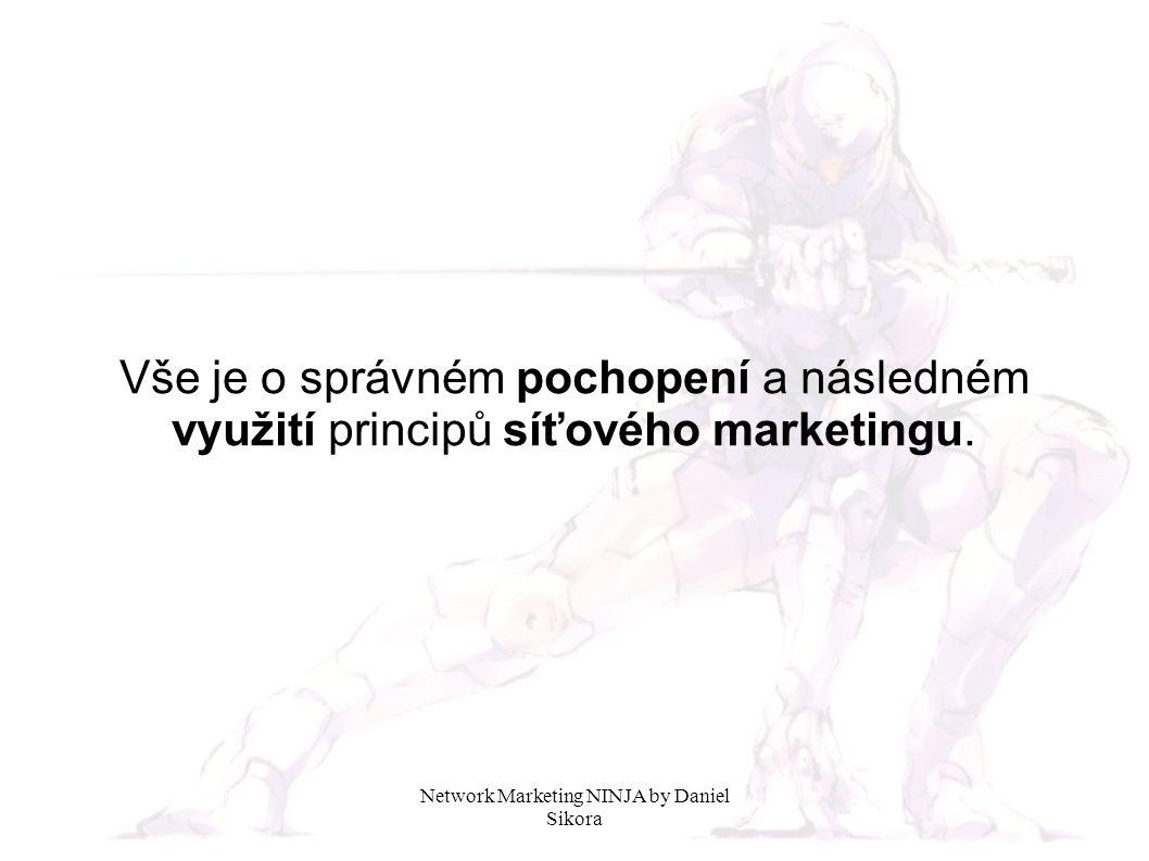Vše je o správném pochopení a následném využití principů síťového marketingu.