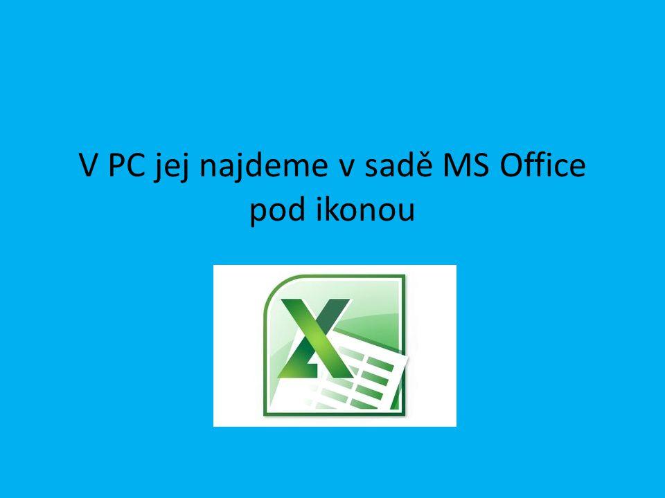 V PC jej najdeme v sadě MS Office pod ikonou