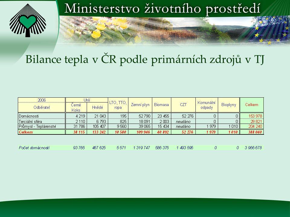 Instalovaný výkon zdrojů k 31.12.2007 v MW e